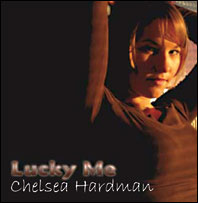 Drummer Ron Briggs plays drums on Chelsea Hardman's Lucky Me album
