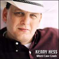 Drummer Ron Briggs plays drums on Kenny Hess's Where Love Leads album